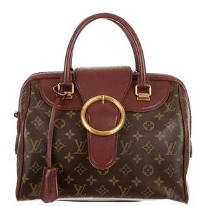LV LimitedEdition Bordeaux Speedy (DISCOUNTED!!)